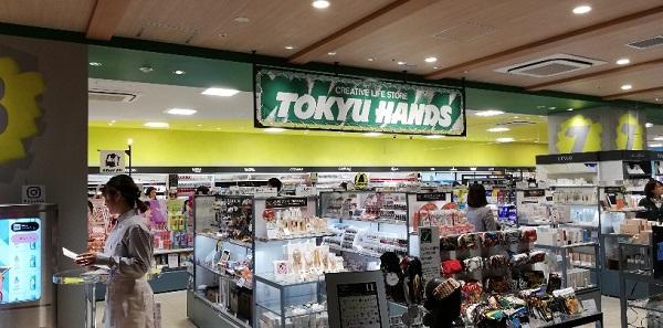 渋谷スクランブルスクエア10Fの東急ハンズ