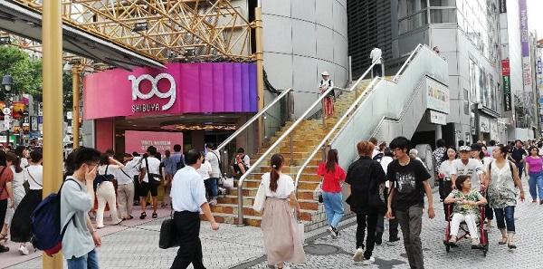 渋谷109の前