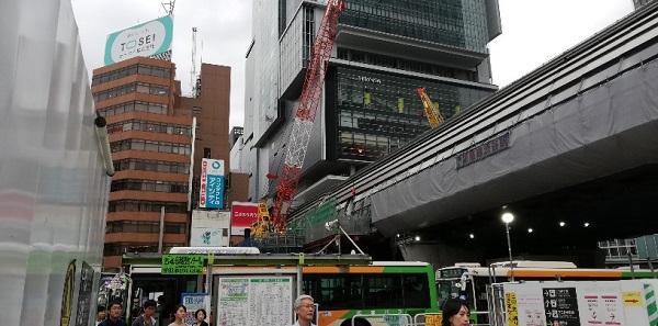 渋谷ヒカリエと銀座線