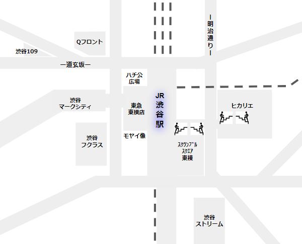 渋谷駅のアーバンコア(スクランブルスクエア東、ヒカリエのエスカレーター郡)