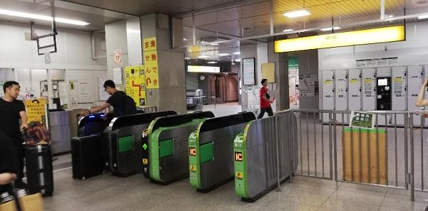 JR渋谷駅の新南改札