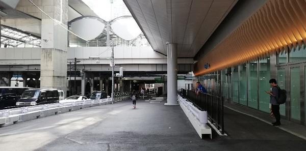 渋谷スクランブルスクエア1F南側、ゴンチャオープン前
