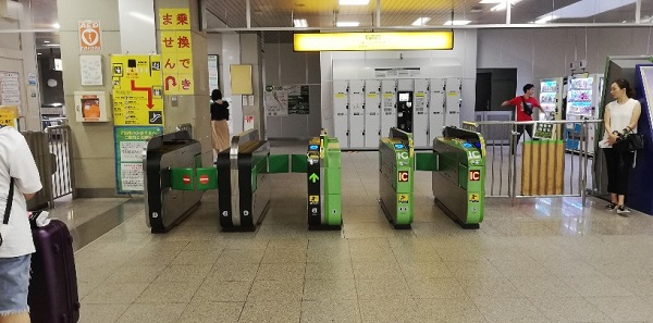 JR線渋谷駅の新南改札