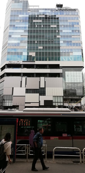 渋谷駅西口の渋谷フクラス