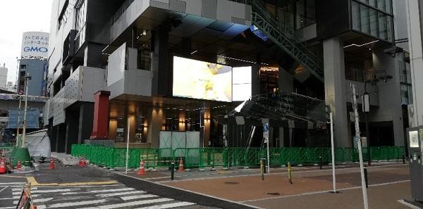 渋谷フクラスおおきなディスプレイ