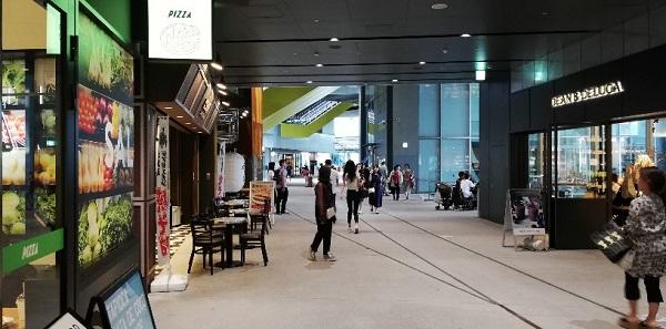 渋谷ストリーム内の通路