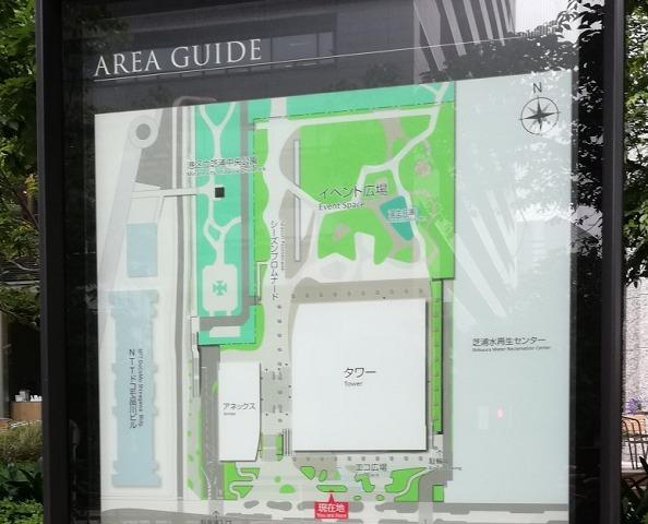 品川シーズンテラスマップ