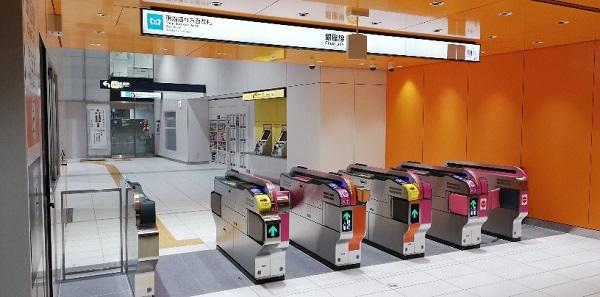 銀座線渋谷駅明治通り方面改札