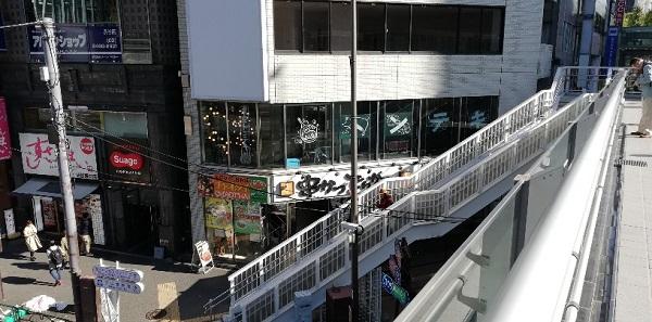 渋谷駅東口の東京トンテキの場所