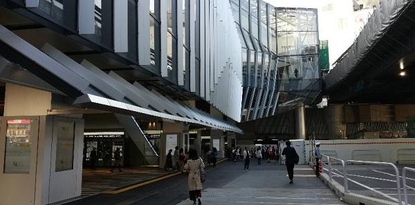 渋谷駅東口(銀座線高架下)