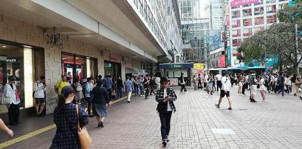 渋谷駅前ハチ公広場