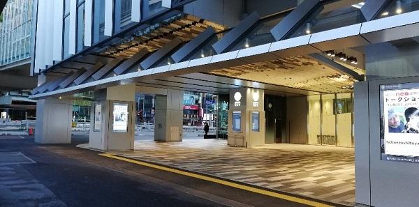 渋谷駅待ち合わせ場所東口スクランブルスクエア前