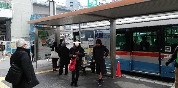 渋谷駅西口バス乗り場34