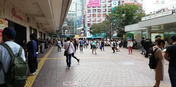 渋谷駅ハチ公広場前
