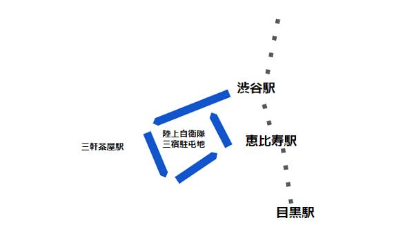 渋谷駅西口バス(系統 渋31 経路)