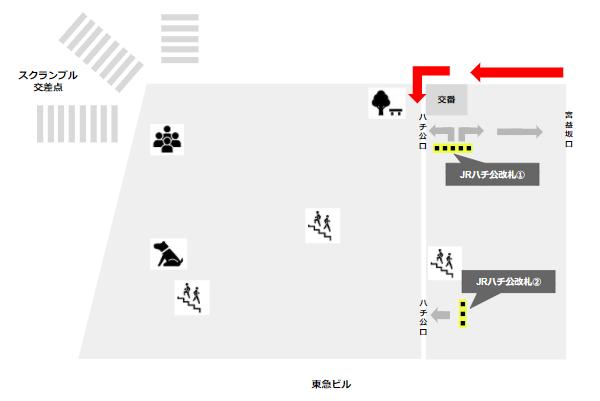 渋谷ハチ公広場の詳細