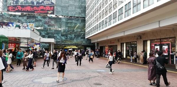 JR渋谷駅ハチ公口前