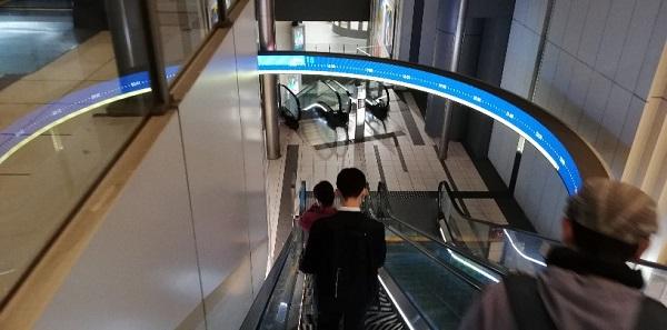 渋谷ヒカリエB5エスカレーター
