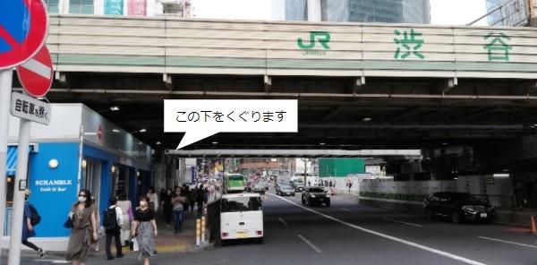 渋谷駅JR線高架下