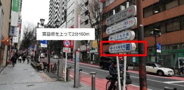 渋谷郵便局宮益坂