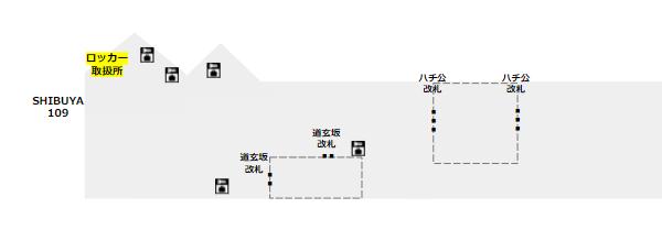 ロッカー取扱所(手荷物預かり所)