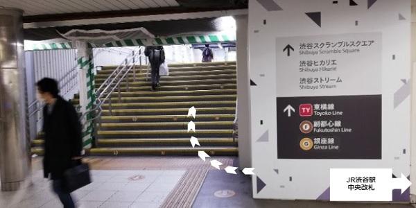 JR渋谷駅中央改札前