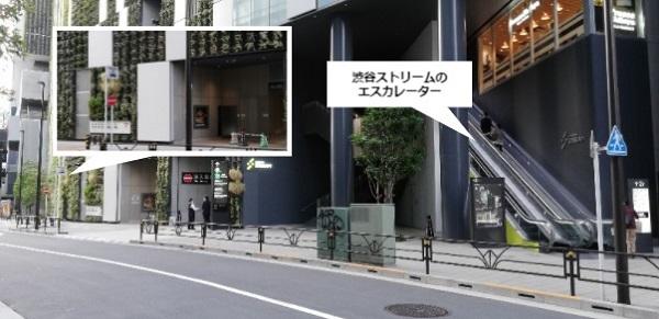 渋谷駅タクシー乗り場(ストリームの前)